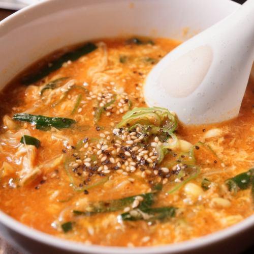 七桃星スープ