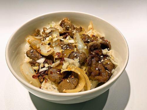 『秘伝のタレで味付け』ジンギスカン丼(タレ)
