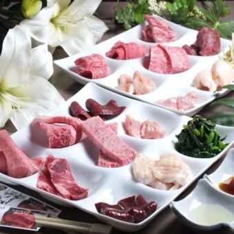 女子协会!充满了科学的肉♪Kuroge和牛蜂的全套课程仅18道菜⇒3500日元(不含税)