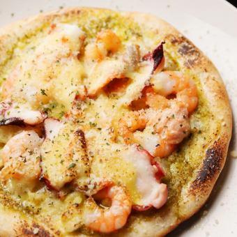 Seafood and potato Genovese