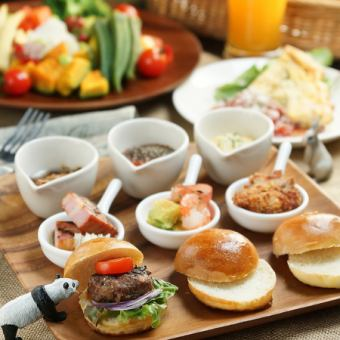 Popular ◎ Burger Ranch ◆ LA Slider Lunch Set