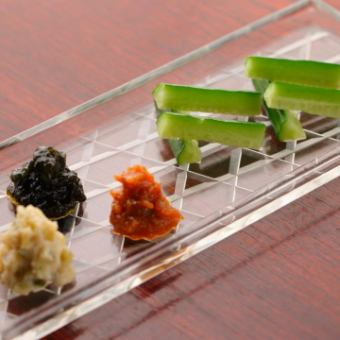 Wasabi prime (pickles · paste · miso)
