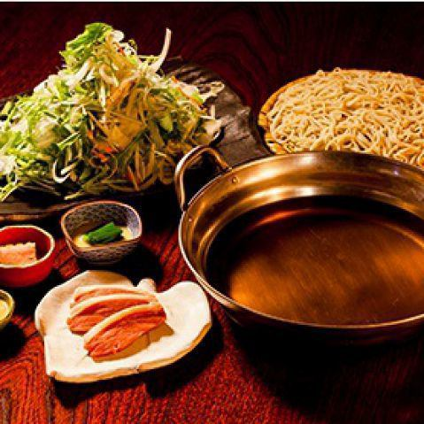 <Start from October> duckpot (4000 yen if it is with soba)