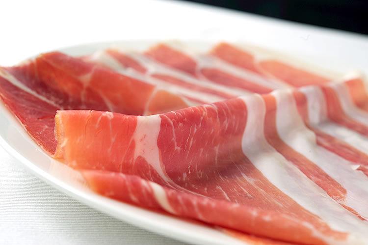 Single item raw ham san daniele
