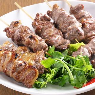 Ramucaribi skewer · Beef Harami skewer (1 piece together with 2 people)
