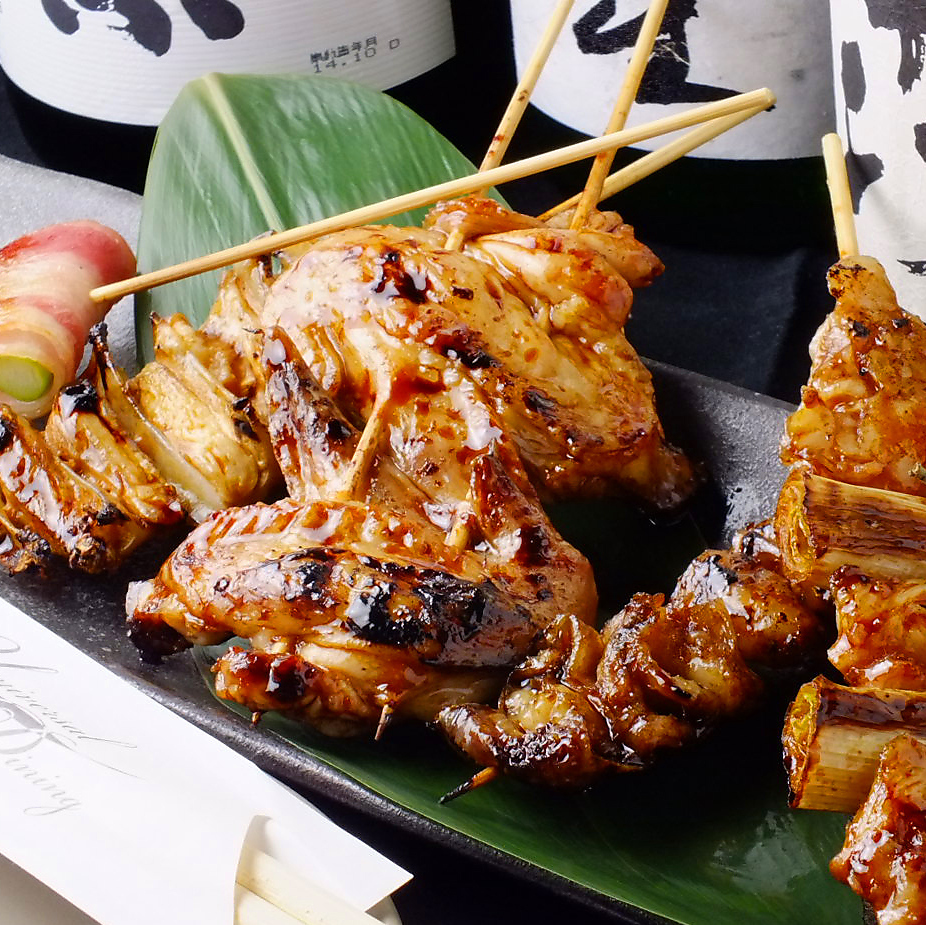 Assortment of 6 kinds of skewers