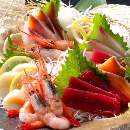 鮮魚盛り合わせ(2~3人前)