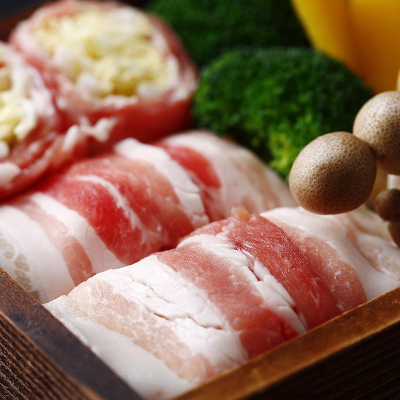 白菜の豚バラロール蒸し