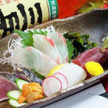 生鱼片单品