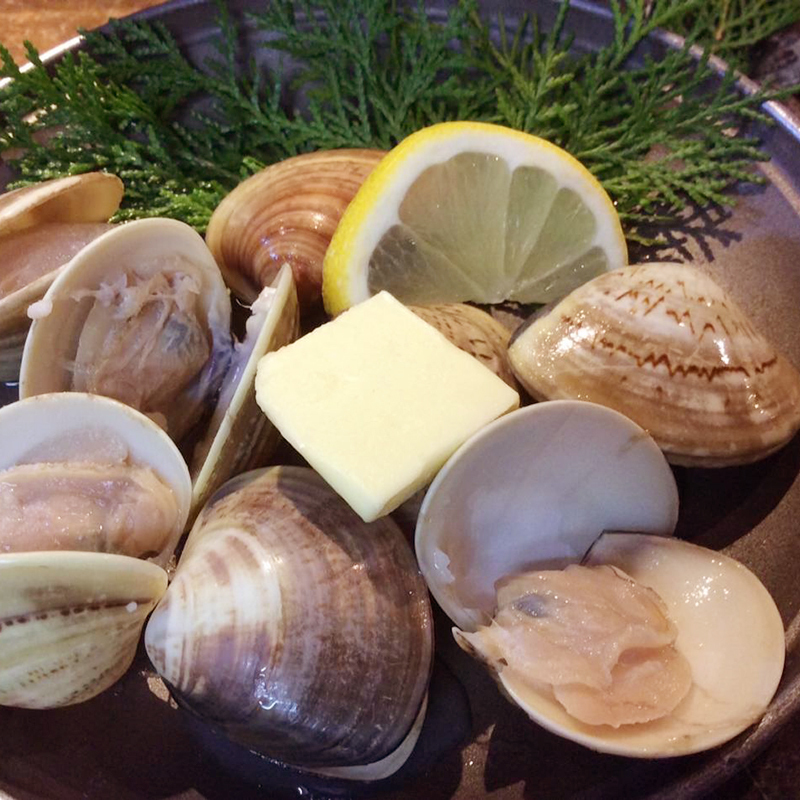 Clams (baked or butter or steamed)