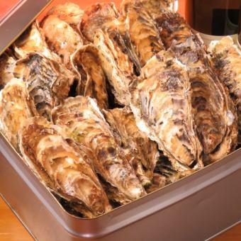 数量限定!三重県浦村産牡蠣の白ワイン カンカン焼き