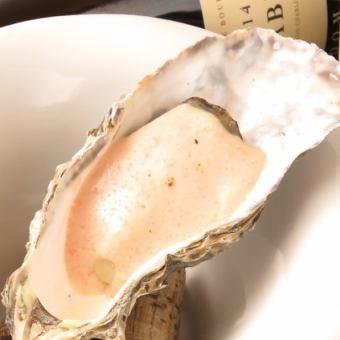 牡蠣のオーブン焼き(クリーム)