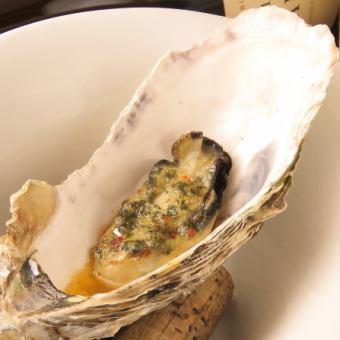 牡蠣のオーブン焼き(ガーリックバター)