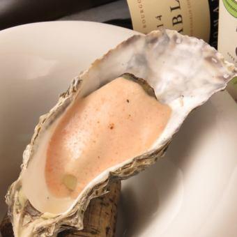 牡蠣のオーブン焼き(明太クリーム)