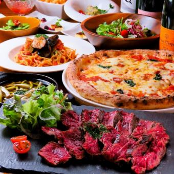 Farewell reception party 【All you can drink with 120 minutes】 Italian course 4980 yen → 4480 yen