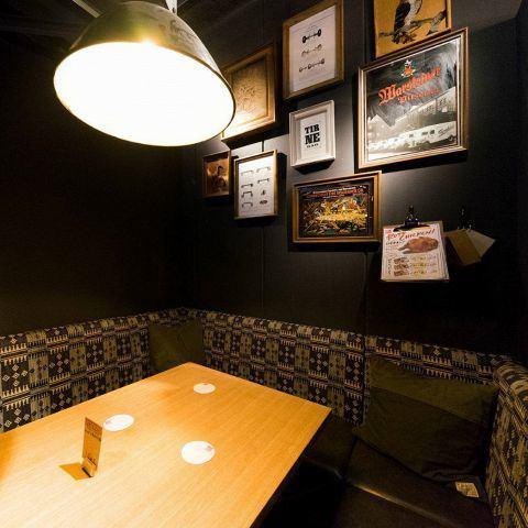 沙發座椅【3F】時尚的空間,為每個座位改變了一點味道♪推薦給想要在拍攝安裝照片時享受飲酒派對的顧客