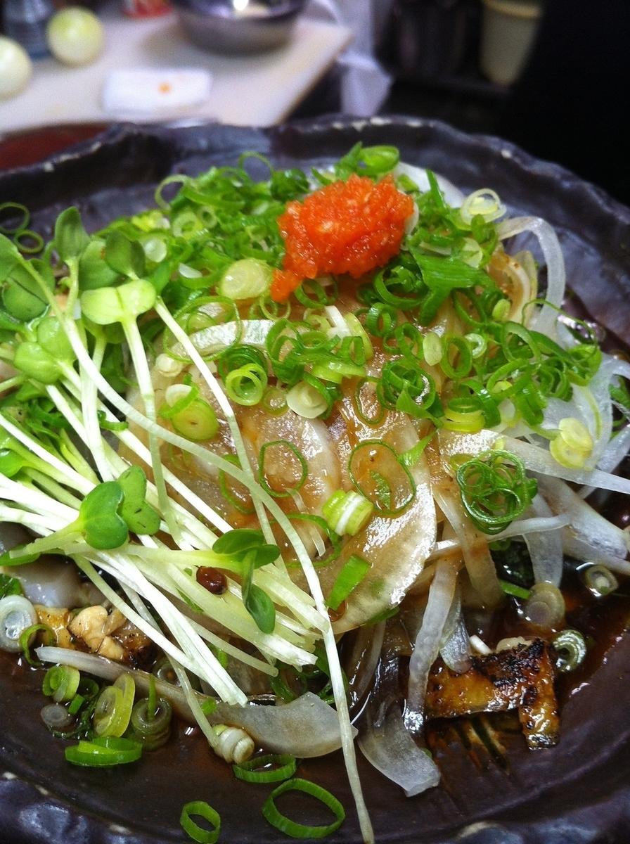 Squid Sting / Horse Mane / Ehako Chicken Tataki