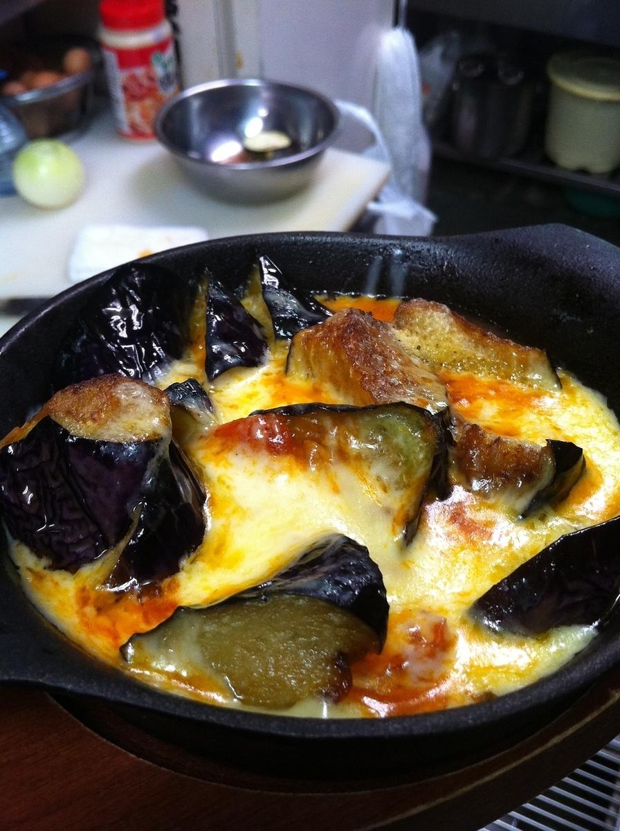 Pilicewiner / eggplant / squid natto / cold natto