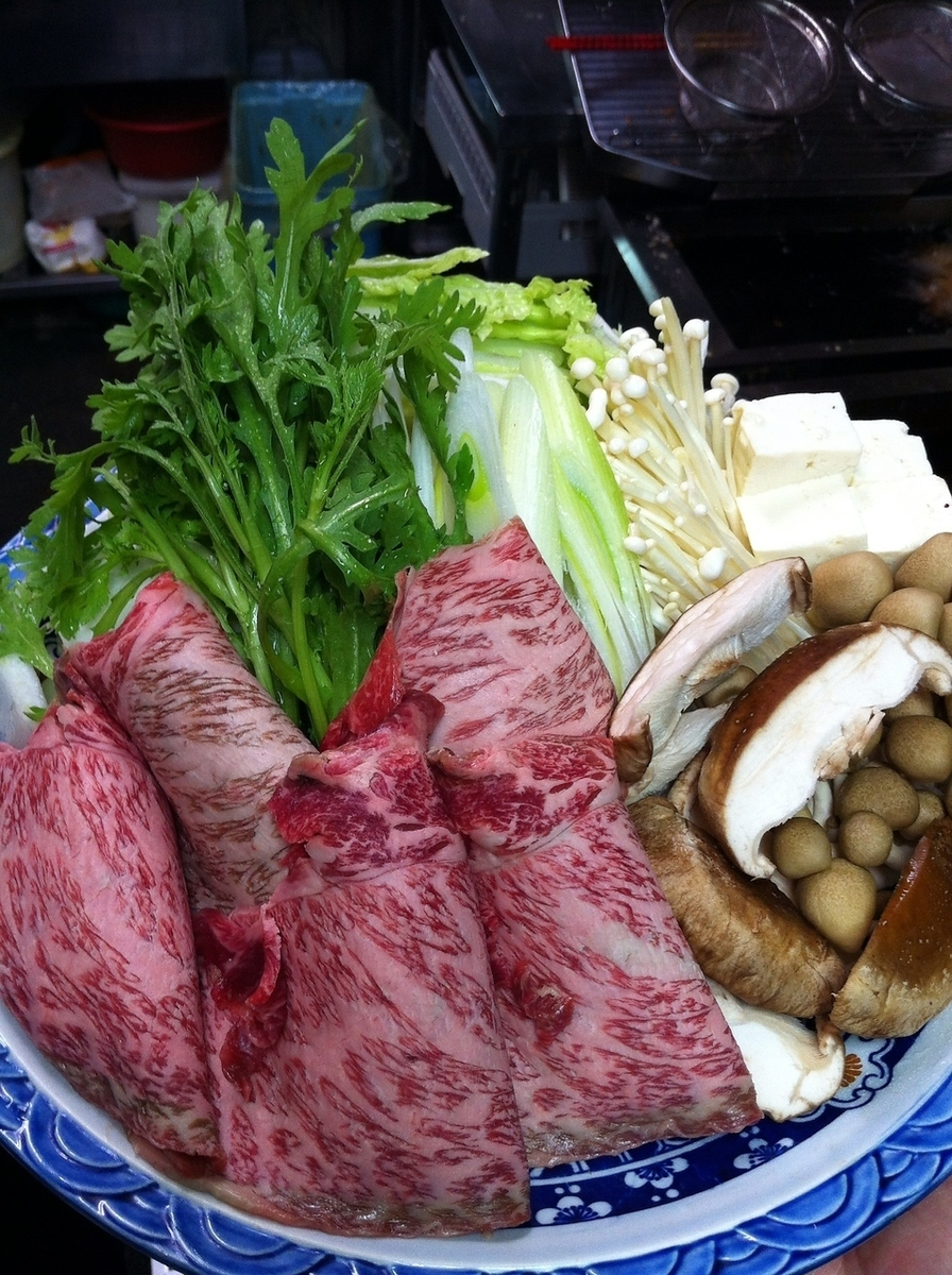 Beef tangerine pork / beef squirting pot
