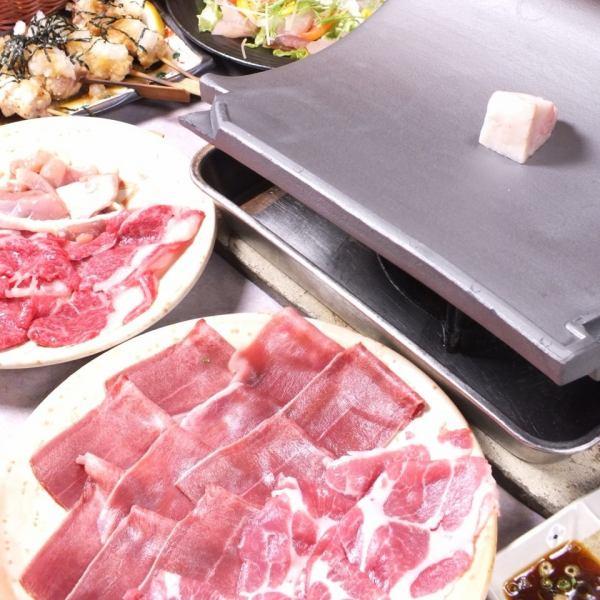 Great tile roasting course (Special course 2,200 yen, special course 3,300 yen)