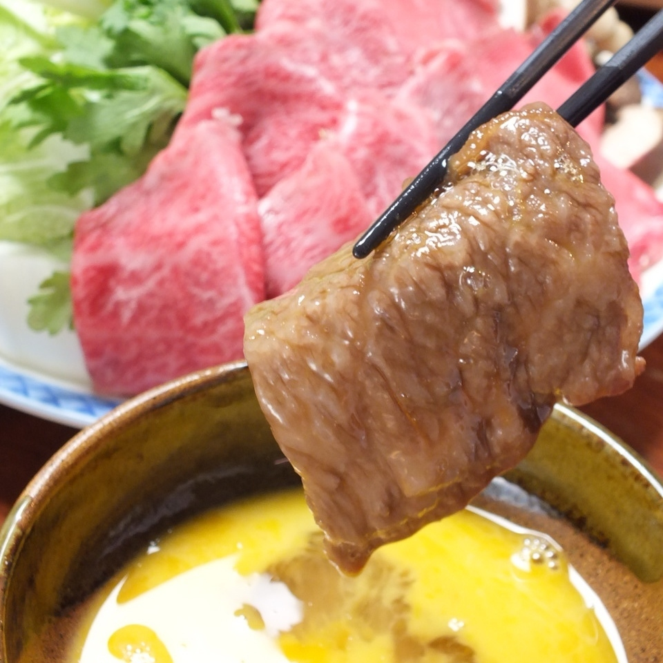 壽喜燒當然4,800日元