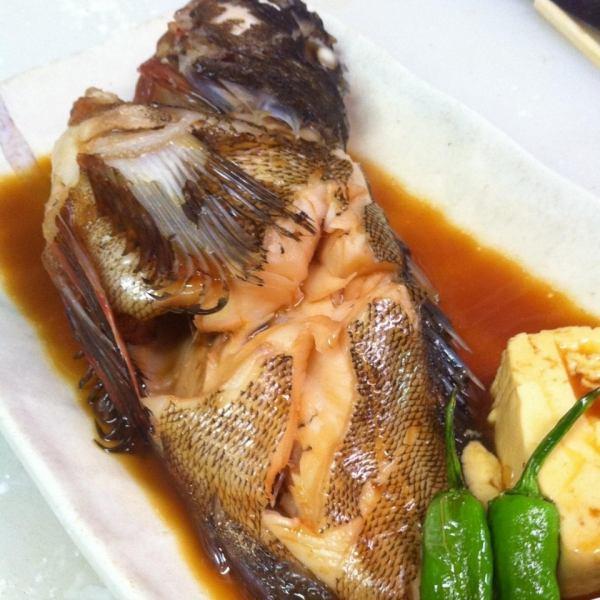 今天煮新鮮的魚