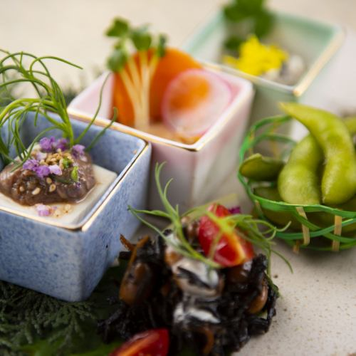 您可以品嚐Nishi Izu和Marugame最新鮮的食材!