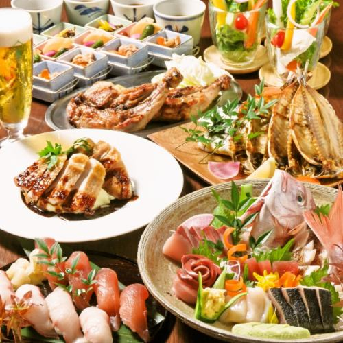 Hot pepper limited [4990 yen course] All 8 dishes 2 hours all-you-can-drink included