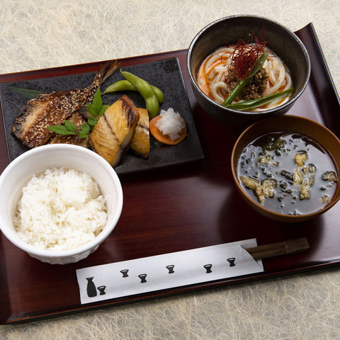 【Nishiizu dried fish set meal】