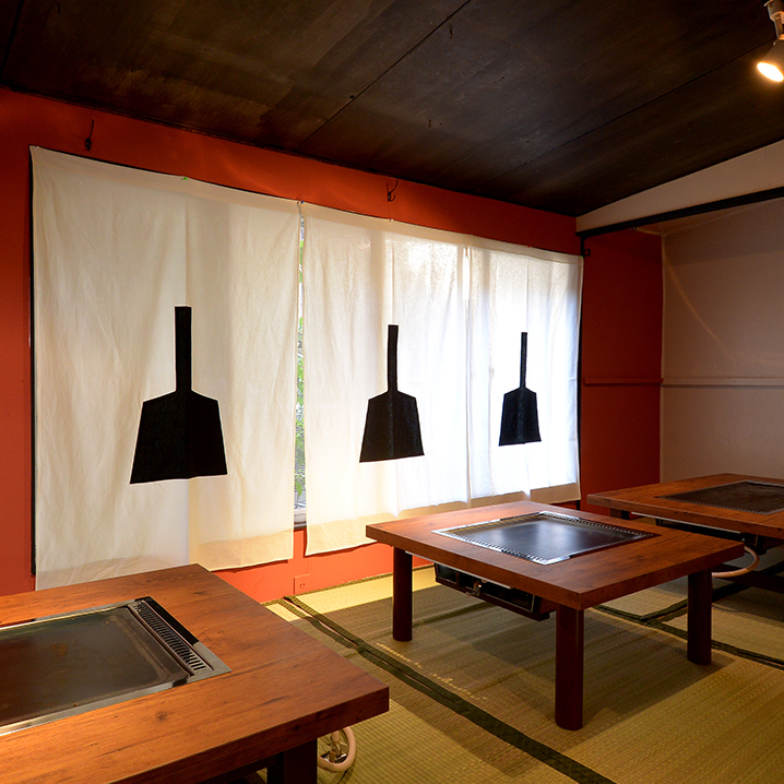 """A comfortable space that can be used in any scene.New open """"Kayamondja"""" If you are now we are preparing for the November Open Open Memorial Course.Please enjoy Azuatsu Monja · Creative dish as a delicious sake!"""