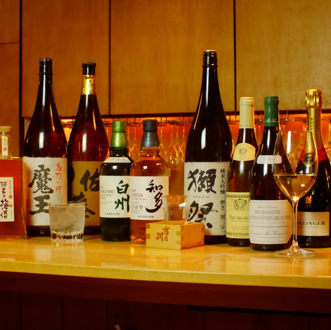 【お酒も充実】