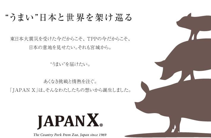 蔵王ブランド豚【JAPANX】