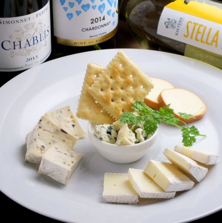 Specialty cheese platter