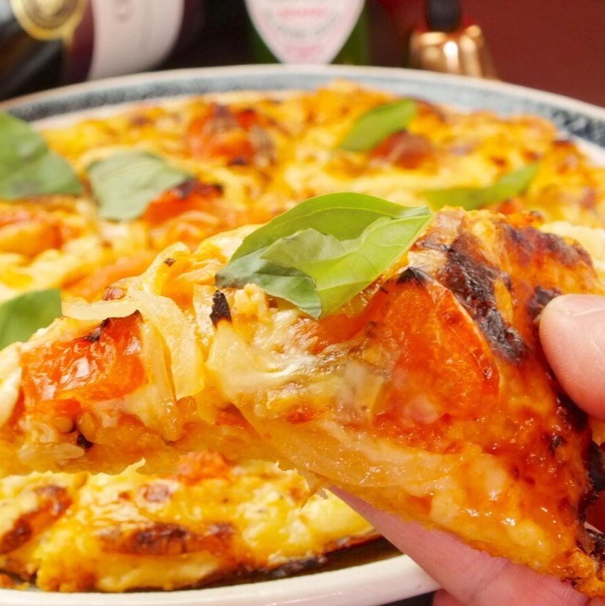 我的披萨!原始披萨与地铁风格