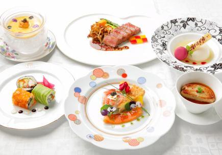 [想像一下懷石料理套餐] 15000日元(不含稅)