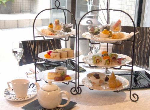 [Limited] Yas Lunch Kaiseki ~ Afternoon Tea Style ~ (per person)