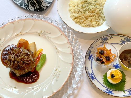 [Limited] Special Sendai Beef Hamburg Steak Lunch