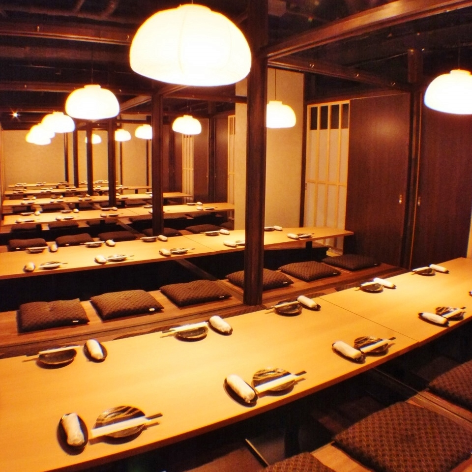 A group of private groups is available for banquets ◎ Up to 55 people OK! You can also charter with a condition!
