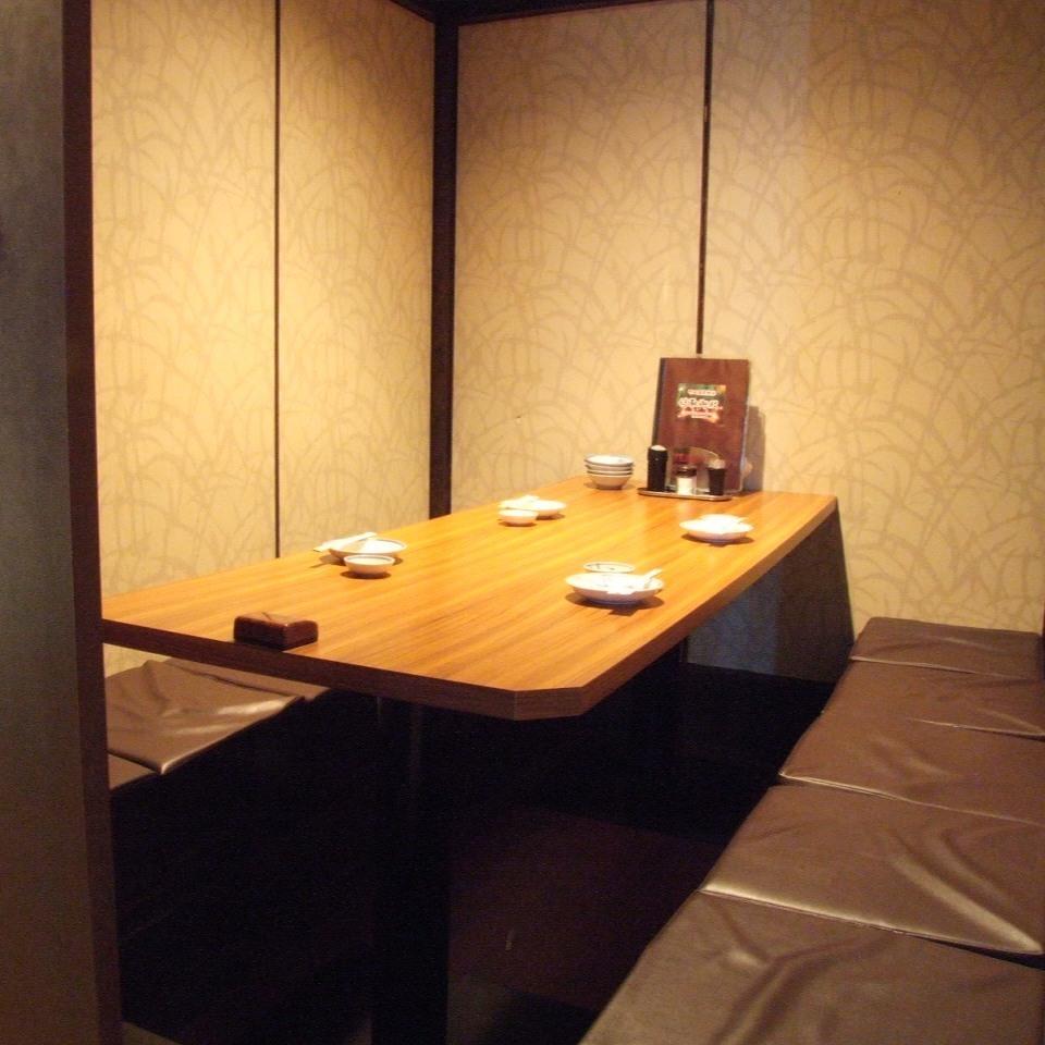 2至4間私人房間