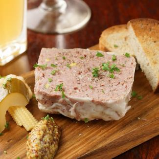 Pate of rabbit and pork