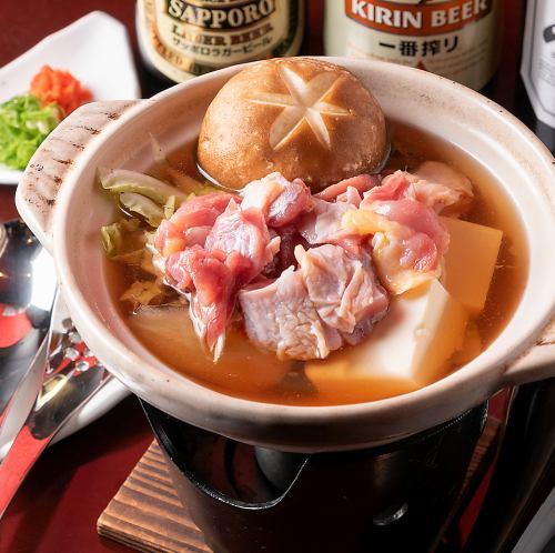 湯豆腐/一人鍋(豚or鶏or魚)昆布だしor色だしか選べますよ!