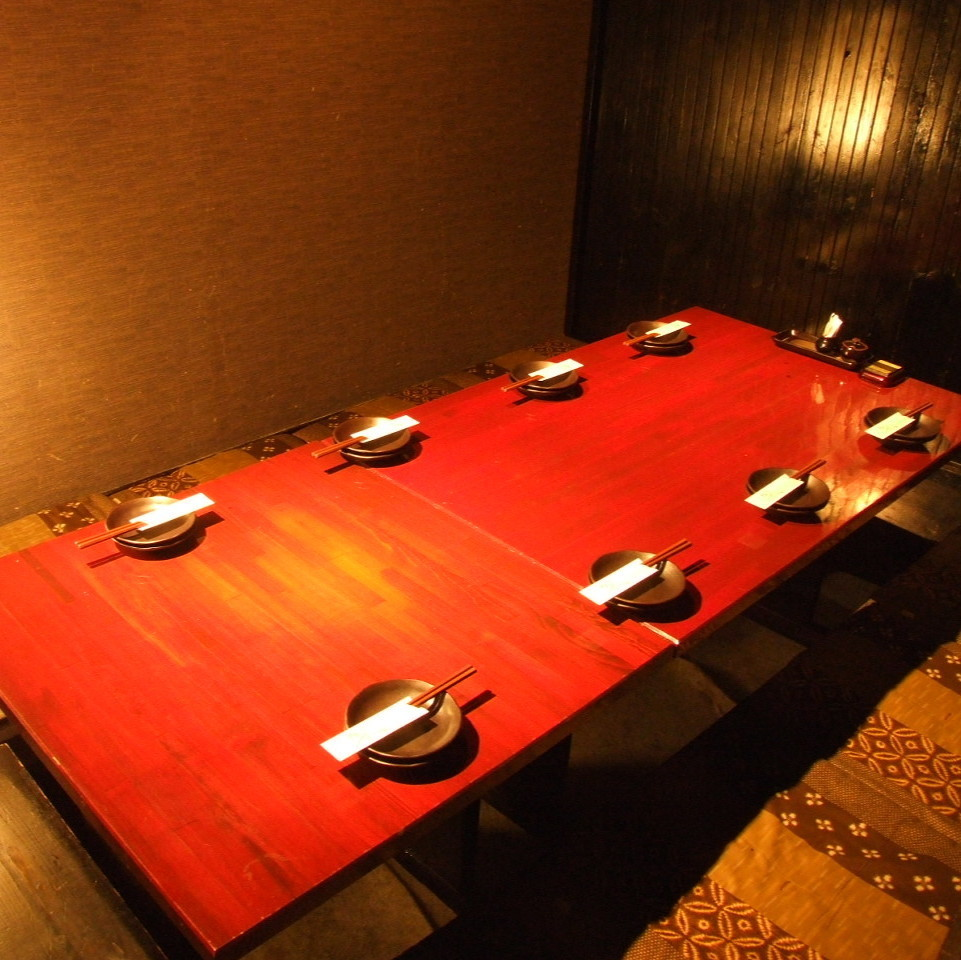 座位通常可容納7至8人,通常用於私人房間娛樂等宴會!