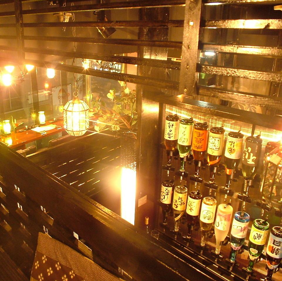 在選擇懸掛在牆上的清酒時,嘗試找到適合自己的清酒也很愉快...