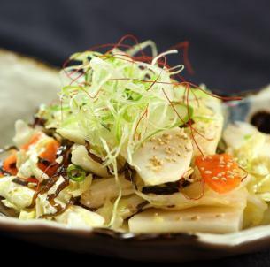 大白菜鹽海帶沙拉