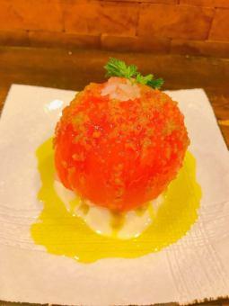 絶対食べてほしい冷トマト