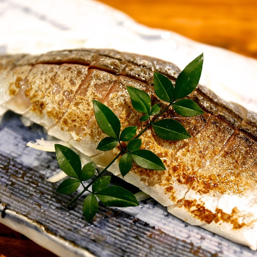 Deep-fried mackerel