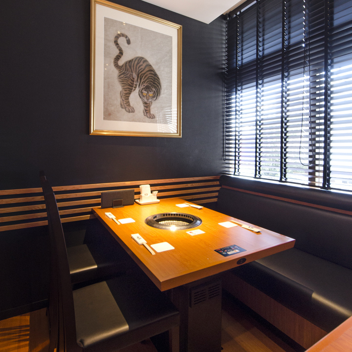 The table seats also provide a high-quality space Both lunch and dinner will produce a fashionable and calm space.