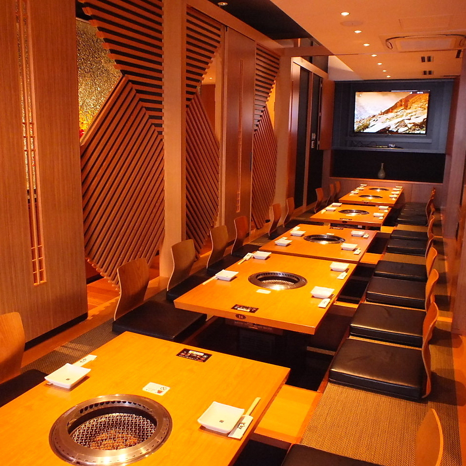It is an osaka which can guide guides for up to 32 people in maximum seating and maximum usage of 40 people