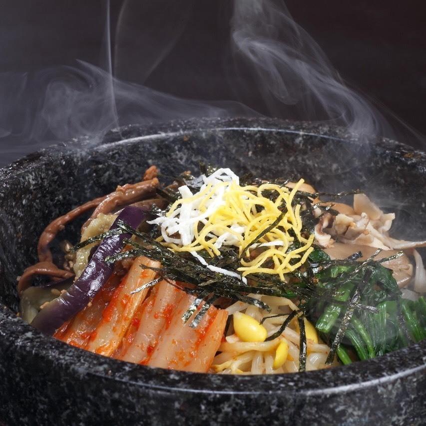 石焼ビピンパ(小スープ付き)