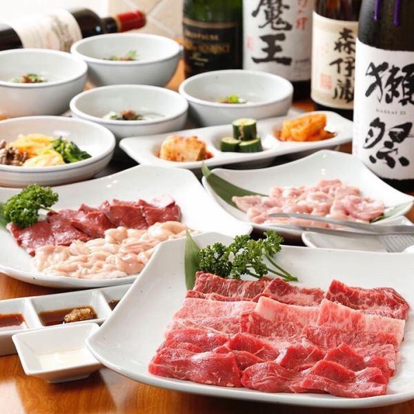 """【對第一位顧客的推薦】★能同時享受黑色的日本味道!!平日限定""""價值套餐""""9項目"""